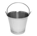 Stainless Steel Pails and Buckets by Size