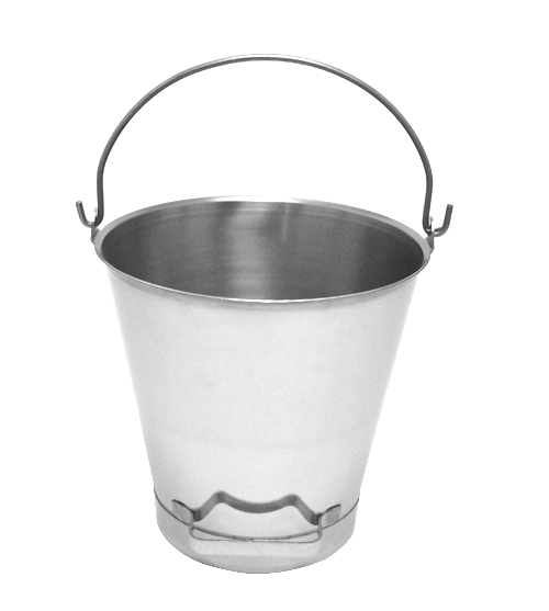 16 qt. Pails w/ Reinforced Bottom & Tilting Handle (Qty of 3) - Part No. 1116X-B
